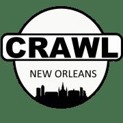 Crawl New Orleans logo