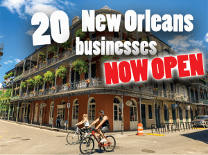 20 New Orleans Businesses open now