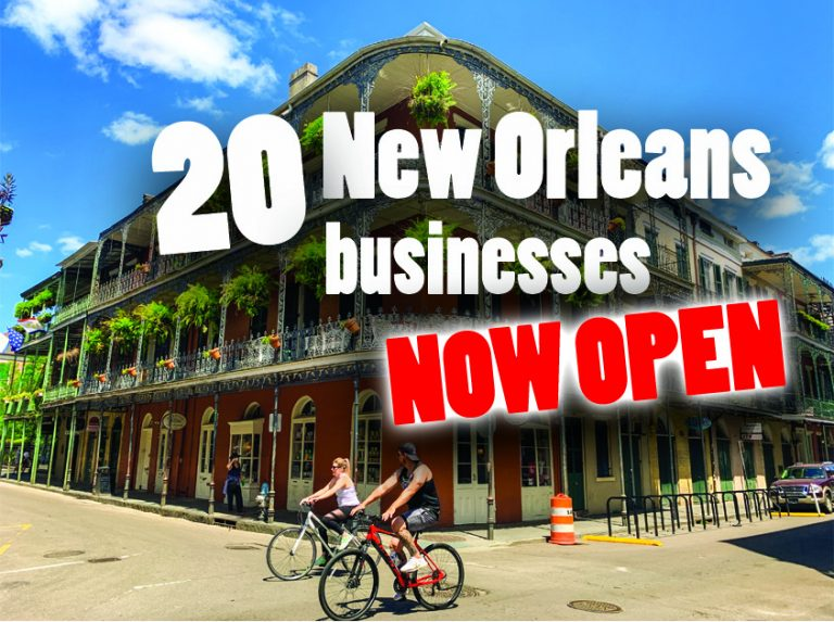 20 New Orleans Businesses open during Coronavirus