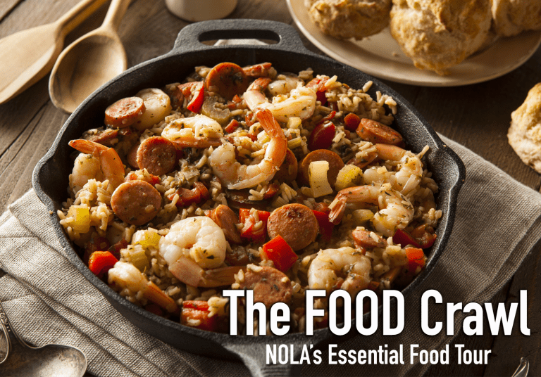 The Food Crawl New Orleans Food Tour