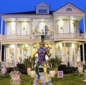 Mardi Gras 2021 House Float Giant